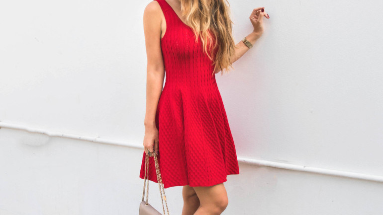 WAYS TO STYLE THE LITTLE RED DRESS